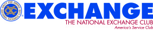 National Exchange Club logo-tagline